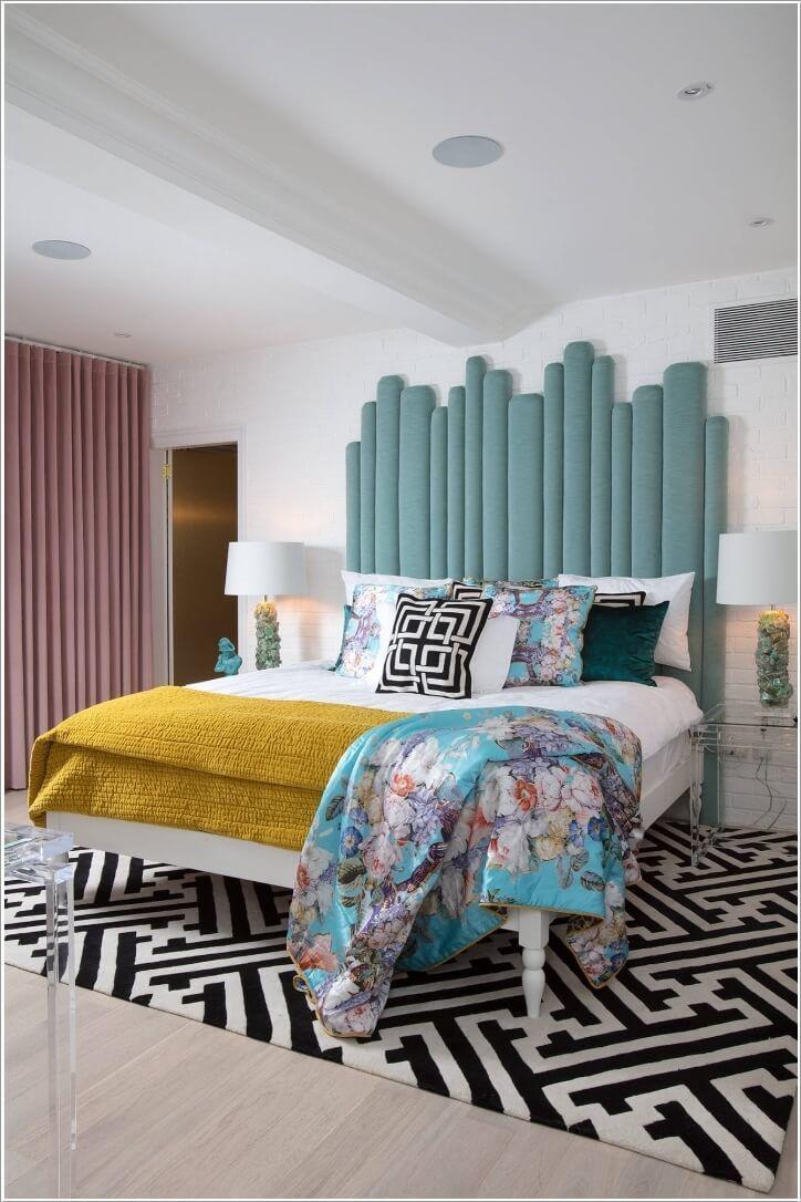 So Dekorieren Sie Ein Schlafzimmer Mit Einer Farbblockierung