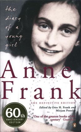 Books, The diary of Anne Frank. We had to watch this in highschool- great movie and book!