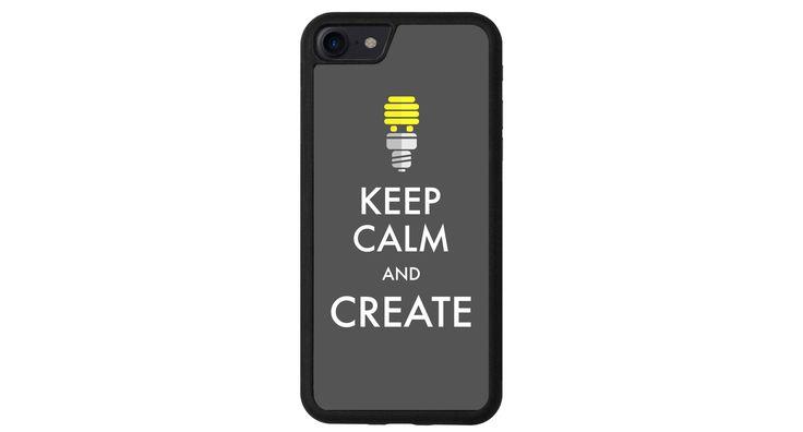 Keep Calm and Create iphone 4 5 6 7 samsung S3 S4 S5 S6 S7 S8 edge note plus LG G3 G4 G5 G6 Moto G G2 E X Play Z HTC  5X 6P  Sony Pixel case de la boutique MeMCase sur Etsy