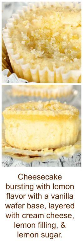 Lemon Delight Mini Cheesecake