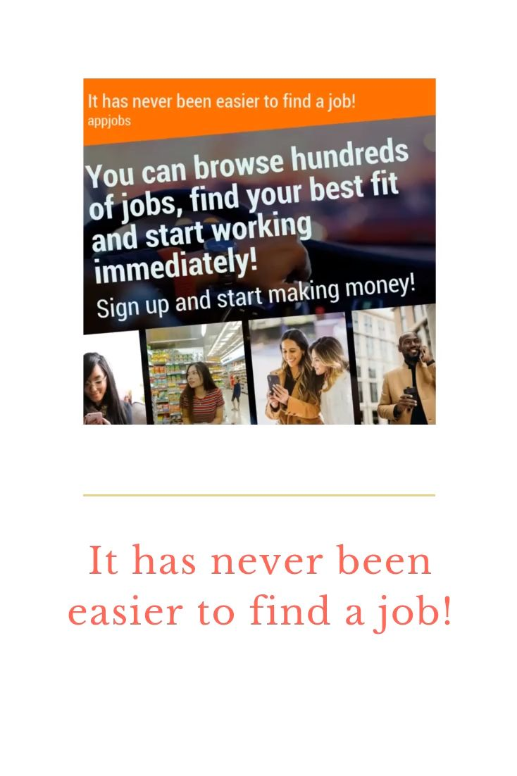 It has never been easier to find a job find places hiring