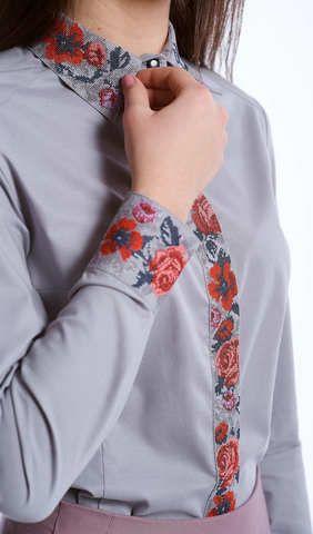 Вишита блузка на ґудзиках арт  276-17 00 купити в Україні і Києві ... 68d77b3c23824