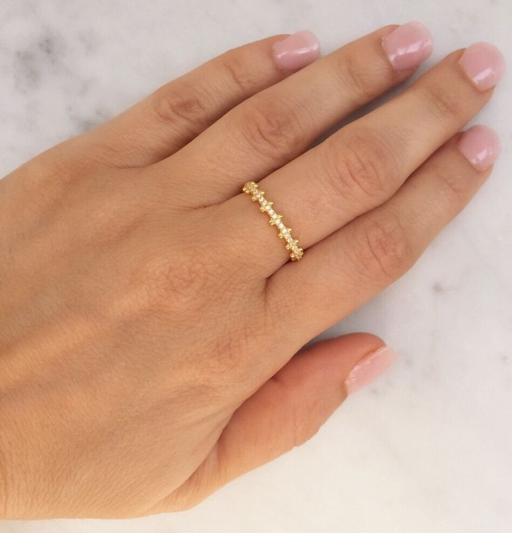 Eternity band ring. Eternity ring. Sterling silver eternity ring. Band ring. Stacking rings. Gold cz eternity rings. Rose gold eternity ring by Jadorelli on Etsy https://www.etsy.com/listing/286071253/eternity-band-ring-eternity-ring