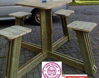 Gazebo Plan/PDF PLAN/Pavilion Plan/Covered Picnic table | Etsy