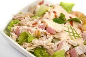 Cracker Barrel's Chicken Salad Recipe from CDKitchen.com