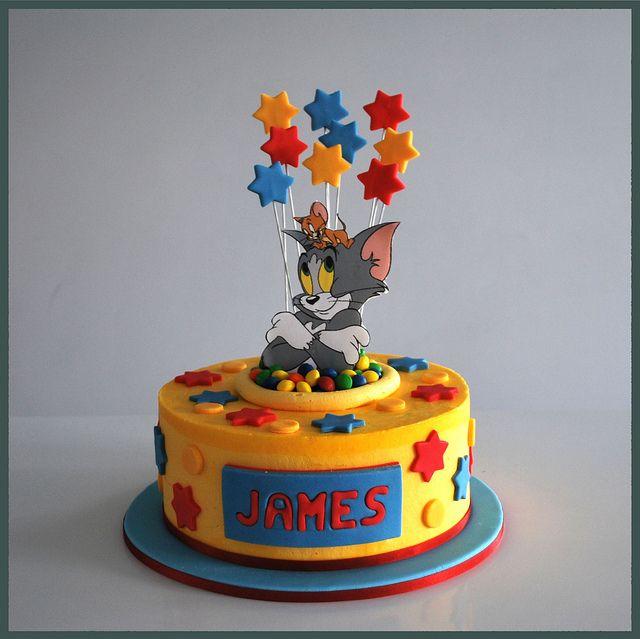 Tom & Jerry Cake by wishbbig (Tracey), via Flickr