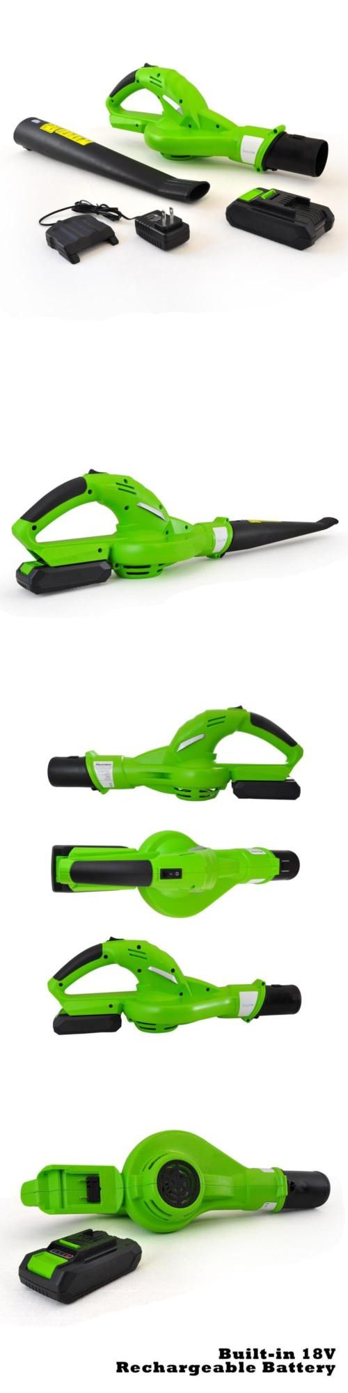 Leaf Blowers and Vacuums 71273: New Serenelife Electric Leaf Blower Cordless Power Blower W Rechargeable Battery -> BUY IT NOW ONLY: $84.95 on eBay!