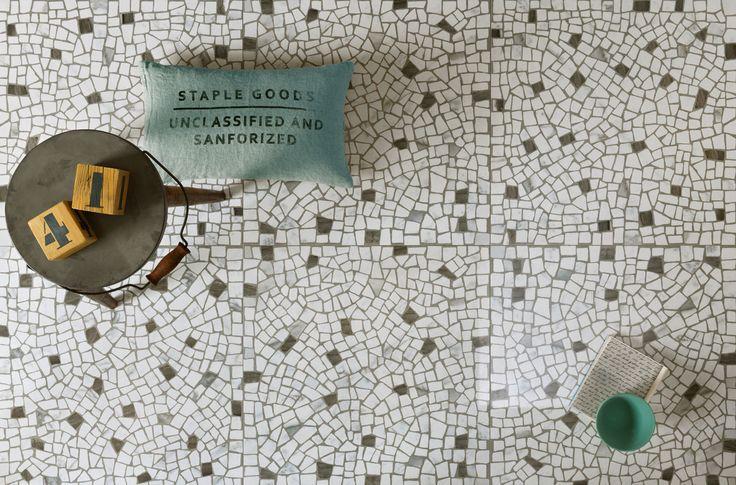 gres porcellanato effetto marmo - Di Giacomo Pavimenti