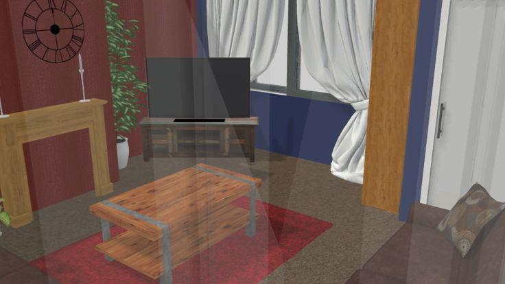 Close up - living room