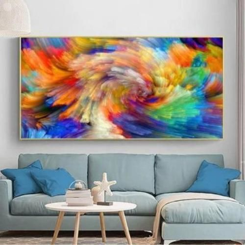 BEAUTIFY YOUR INTERIOR SPACE HIGHLIGHTS Colourful Clouds Abstract Wall Art - vivid and full of artistic atmosphere as decoration High Quality - premium canvas, waterproof and fading resistant Thoughtful Gift - for your family and friends DESCRIPTION Thick clouds sets this wall art collection in motion, the Colourful Clouds Abstract Wall Art is beautiful and unveils the wonders of nature. Perfect for your living and dining room, bedroom, or as a focal point in a hallway, giving any open wall… Oil Painting Abstract, Abstract Wall Art, Painting Canvas, Oil Paintings, Living Room Pictures, Wall Pictures, Wall Art Prints, Canvas Prints, Colorful Clouds