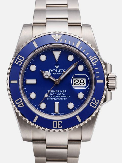 Best Rolex Submariner Price for Rolex Submariner Date Watch: 18 kt white gold - 116619LB