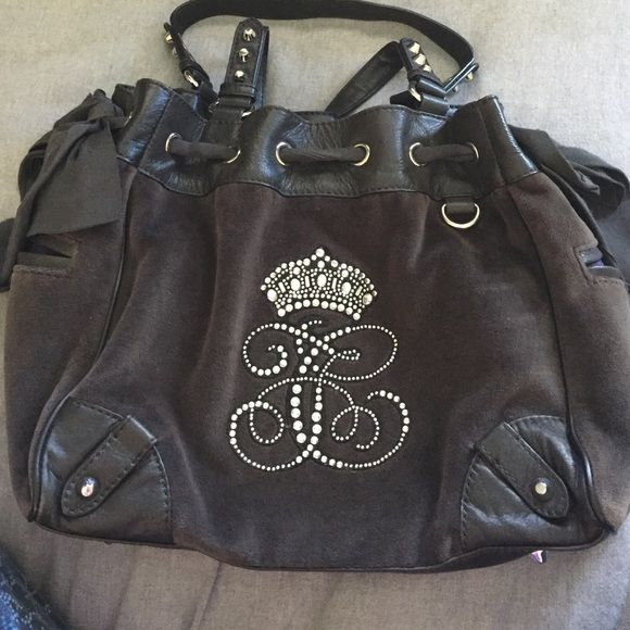 Juicy couture handbag Worn once. Juicy couture handbag. In perfect condition no stones are missing Juicy Couture Bags Shoulder Bags