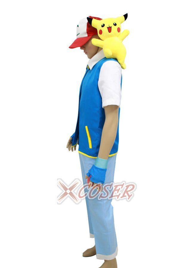 Ash pokemon costume | ash ketchum costume