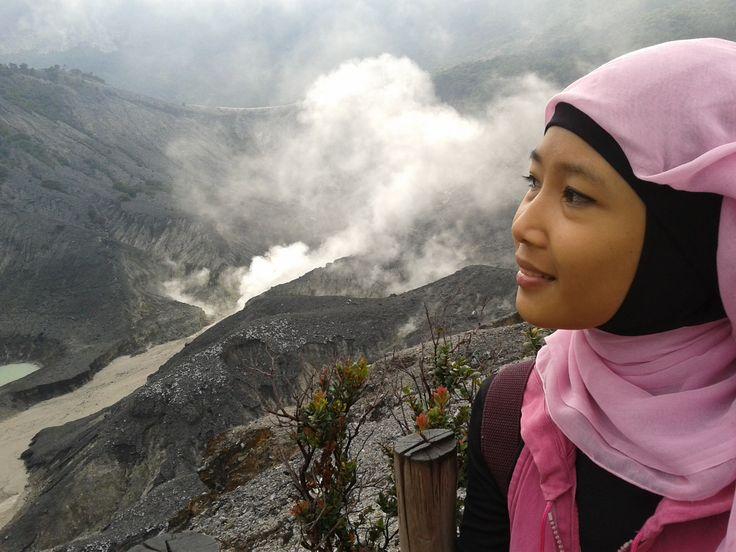 A long time ago when I visit Gunung Tangkuban Parahu
