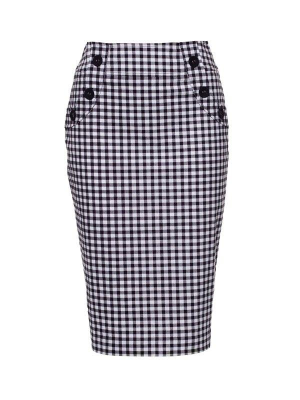Review Australia   Rydell Skirt Black/cream. Gorgeous skirt!!! Elegant and timeless. Absolute perfection.