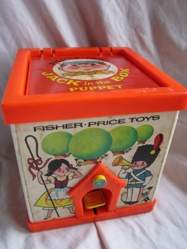 Vintage Fisher Price Jack in The Box Puppet 1970s Toy | eBay