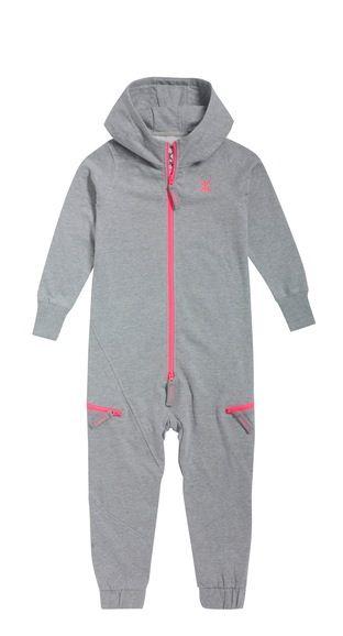 Onepiece Relax Kids Jumpsuit Grey Melange