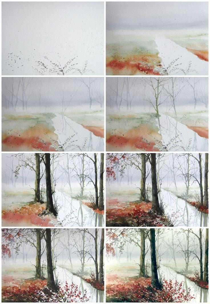 Полька Małgorzata Szczecińska — художник-любитель от души. Познакомитесь с ее творчеством: она не только рисует акварелью и маслом, но и расписывает шелковые платки.…