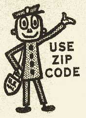 1963 ~ The Zip Code - It was the year Robert Moon, known at the time as Mr. Zip, gave us the Zoning Improvement Plan, the 5 digit Zip Code