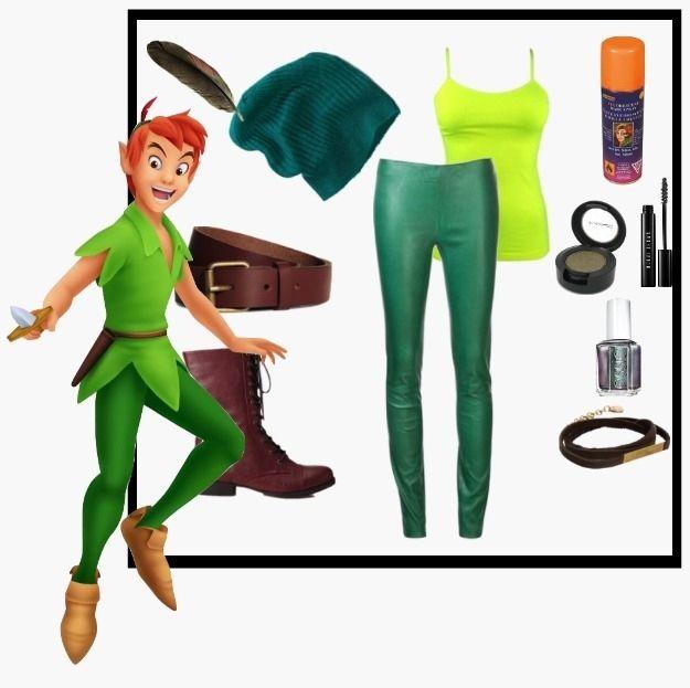 Peter Pan   Community Post: 8 DIY Disney Costumes, maybe you can be Peter @Hallie M Elduff