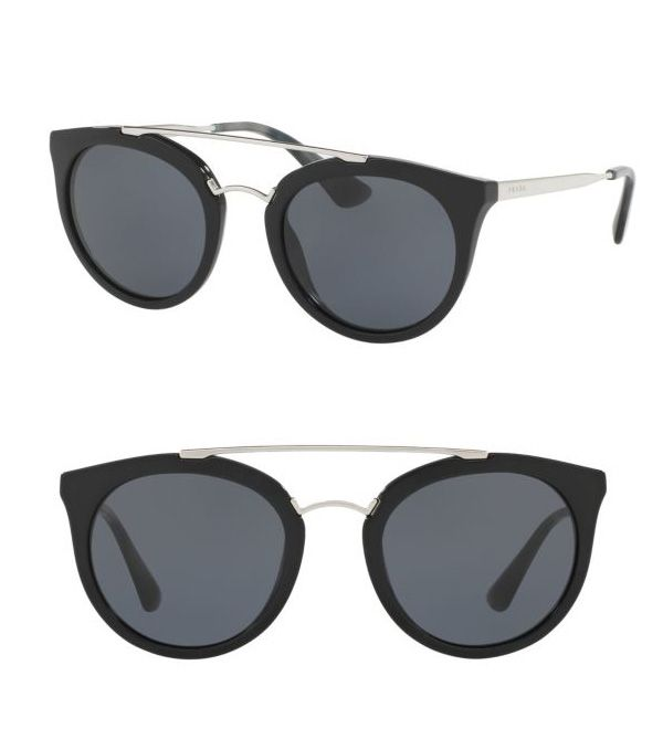 Prada 52MM Phantos Sunglasses Black              $59.00