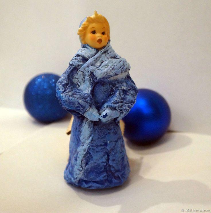 Купить Снегурочка, ватная игрушка с антикварной головкой в интернет магазине на Ярмарке Мастеров
