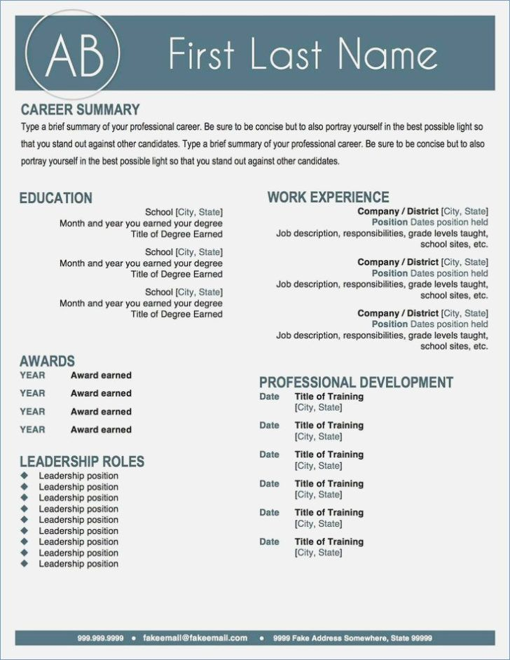 That Stand Out Resume Templates Pinterest Template