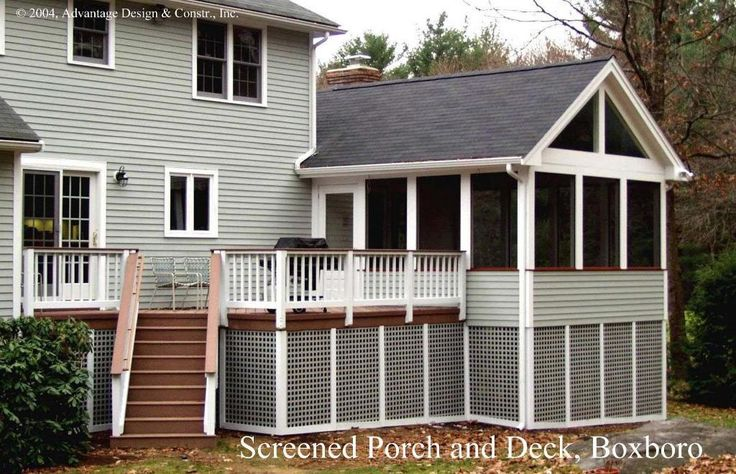 102 best images about porch ideas on pinterest screened for Gable screened porch