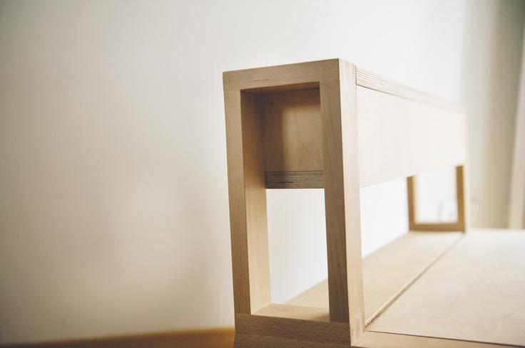Grandma's bench by NIMIO  photo by @Jose Luis de Lara  #bench, #furniture, #wood
