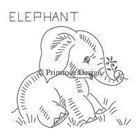 hand embroidery elephant pattern - Google Search