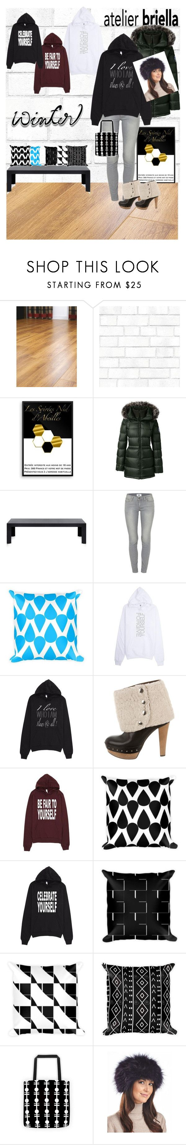 """Shopping At My Favorite Store Wearing My Favorite Hoodie/Sweater"" by atelier-briella ❤ liked on Polyvore featuring Tempaper, Lands' End, Kartell, Paige Denim, Marni, YOJ, FRR and wintersweater"