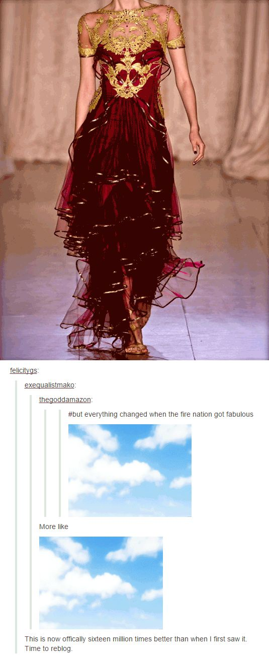 Everything Changed When The Fire Nation Got Fabulous