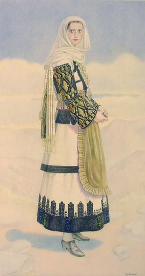 NICOLAS SPERLING #19 - Woman's Costume (Boeotia, Tanagra)