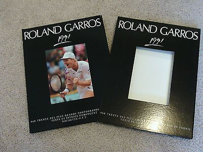 1991 Roland Garros Photo Book Yearbook Hardcover French Open Tennis Monica Seles