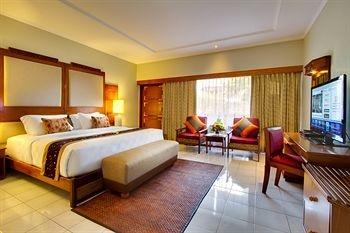Luxury bedroom design at Rama beach resort and villas Bali