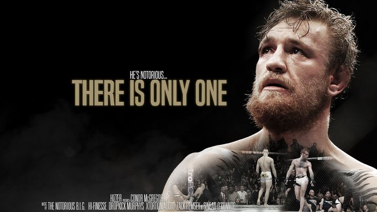 conor mcgregor there is only one