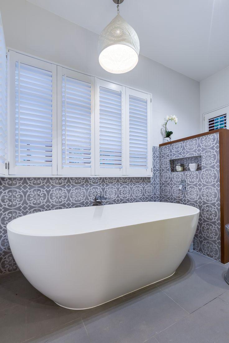Moroccan Tiles! GET SOME! #modernbathroom #Synergy_BD