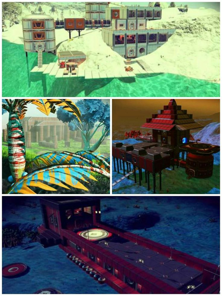 [Image] More of my No Man's Sky Builds