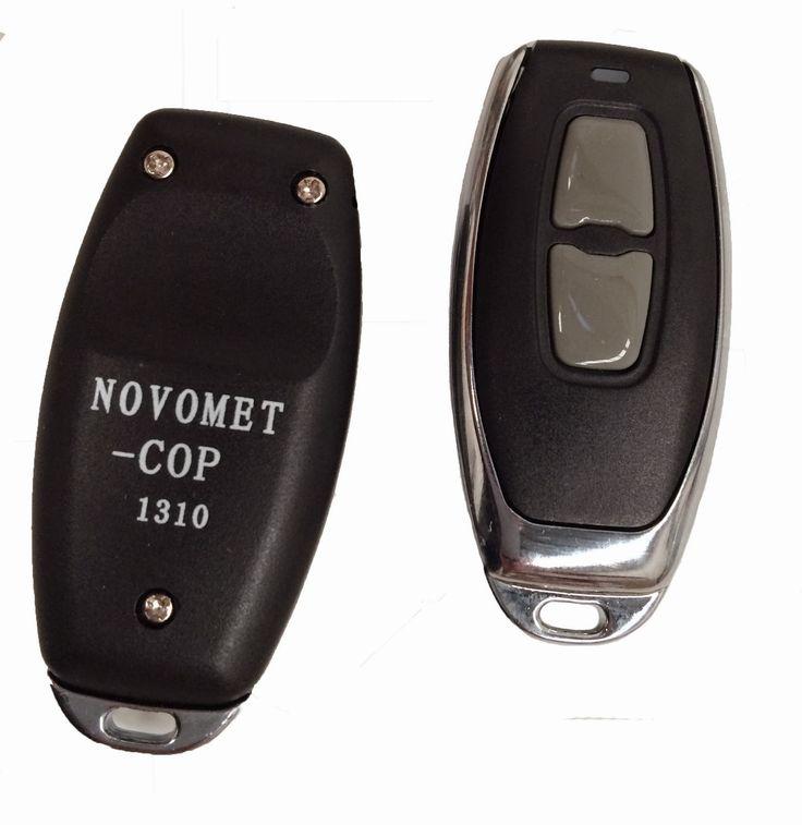 Copiar mando de puertas de garaje con el mando a distancia NOVOMET-COP de automateasy NUNCA FUE TAN FÁCIL.