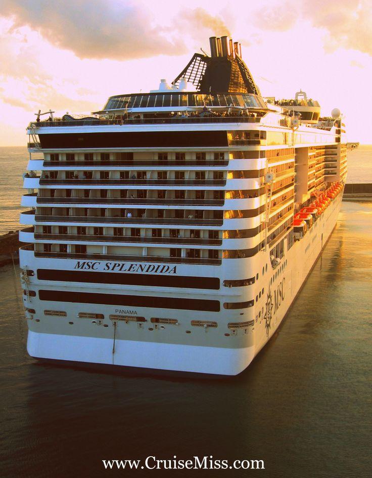 #MSCSplendida in all her glory!  #CruiseMiss