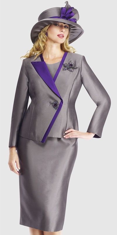 $298.90 Sizes: 12 14 16 18 20 22 24  Colors: Black With Ivory ( 3pc Silk Suit )
