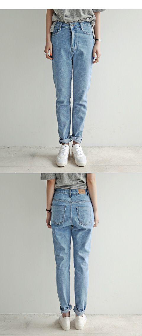Бойфренд джинсы для женщины в свободного покроя без тары высокая высокой талией джинсы шаровары мешковатые брюки женщины в джинсы брюки 26 ~ 31 купить на AliExpress