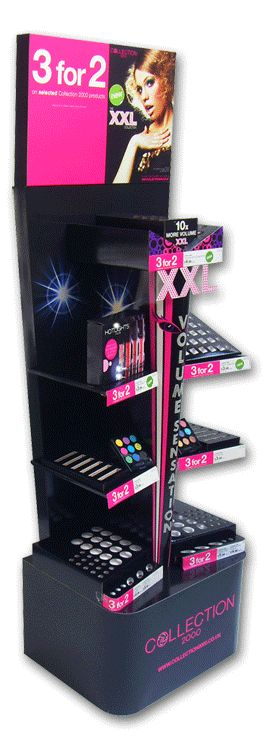 XXL Collection 3 for 2 free standing unit