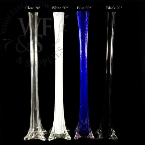 "20"" Glass Eiffel Tower Vase 20, inch, eiffel, tower, containers, vases, discount, wholesale, vase, san, diego, cheap, vase, 3738, 3738-50, 38-50, 50"