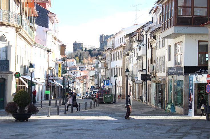 Centre of #Bragança