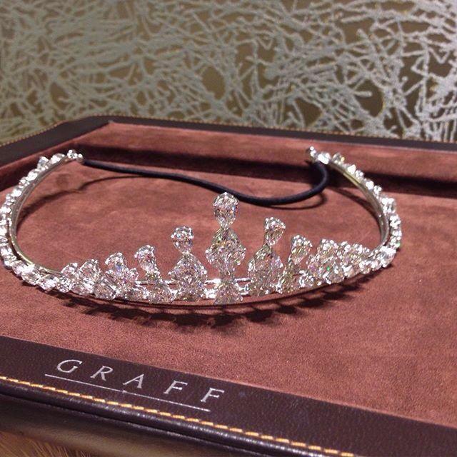 Graff Diamond Tiara.                                                                                                                                                      More