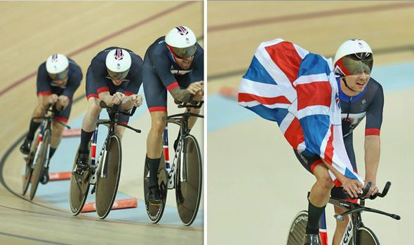 Sir Bradley Wiggins Olympic gold Team GB cycling team pursuit Rio 2016 news