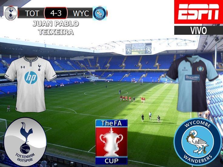 FA Cup 2016/17 4º Ronda: Tottenham Hotspur 4-3 Wycombe Wanderers