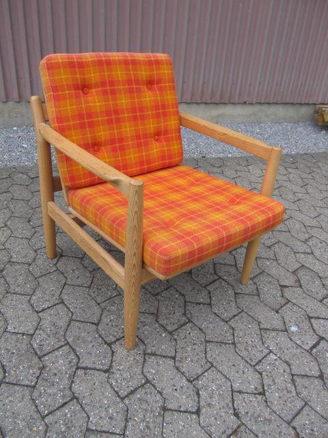 Retro lænestol fra Bruksbo Norway. Se den til salg på www.retrosiden.dk