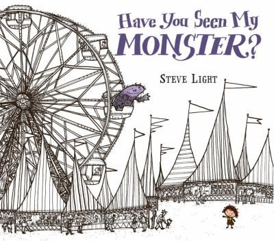 FICTION:Invites young readers to identify shapes while helping a small girl search the fair for her pet monster.